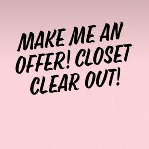 Other - CLOSET CLEAR OUT! ALL OFFERS ACCEPTED OR COUNTERED